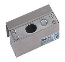 Control de acceso chapas magn ticas bracket para puerta for Puertas 180 grados