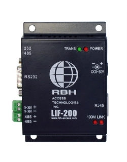 Convertidor  de RS-485 y RS-232 a ethernet LAN Interface Module (TCP/IP) ( 10/100MB, RS232 and RS485)[RBH]