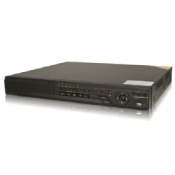 DVR HD Performance - Realtime Playback, 2 x SATA HDD, Mobile Phone Surveillance, Standard 1U Case, IR Extender[LTS]