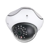 Cámara IP - 720P de 1.3MP, 1/3 CMOS, lente fija de 4.2mm, 24pcs IR LED, 60 pies, IP66, DC12V / PoE[LTS]